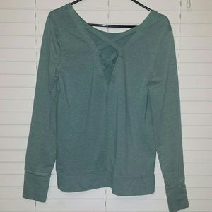 Old Navy Tops - Old Navy top size large thumb holes